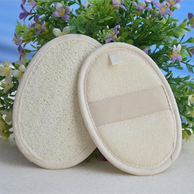 New Natural Loofah Sponge Bath Rub Exfoliate Bath Towel 3