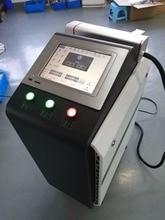 50watt 100 watt  fiber metal laser cleaning machine for rust removaling high precision work effect