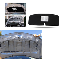 RKAC 1 PCS for Toyota Corolla 2007 2013 Engine hood insulation cotton insulation cotton trunk lid liner accessories