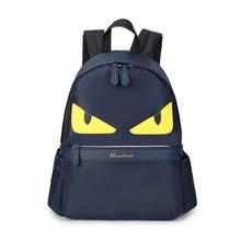 Новые Оксфордские школьные сумки для девочек-подростков маленький монстр Bookbag Симпатичные Рюкзак Дорожная сумка SAC DOS Enfant Bolsa Эсколар