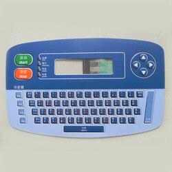 4900 membrana klawiatury dla części drukarki atramentowej LINX 4900 klawiatura atramentowa