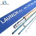 Maximumcatch Youth Kids Fly Rod 7'8 ''4WT 4 секции  Удочка средней скорости с трубкой Cordura для подростков  удочка