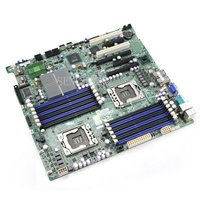 Free shipping X8DT3 F X58 dual 1366 motherboard One year warranty