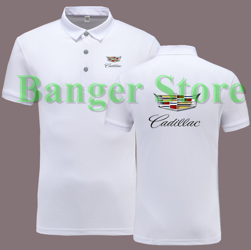 Cadillac 4s Shop Car Logo Polo Shirt Overalls For Women And Men In