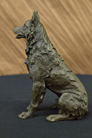 1@g++ Mouse over image to zoom Details about Bronze Statue **DEAL** German Shepherd Art Deco Home Decor Sculpture