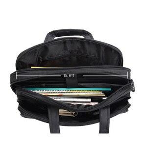 Image 4 - 2019 אופנה גברים תיק ילקוטי תיק מחשב נייד גדול קיבולת תכליתי תיק אוקספורד תיקי כתף באיכות גבוהה שקיות זכר
