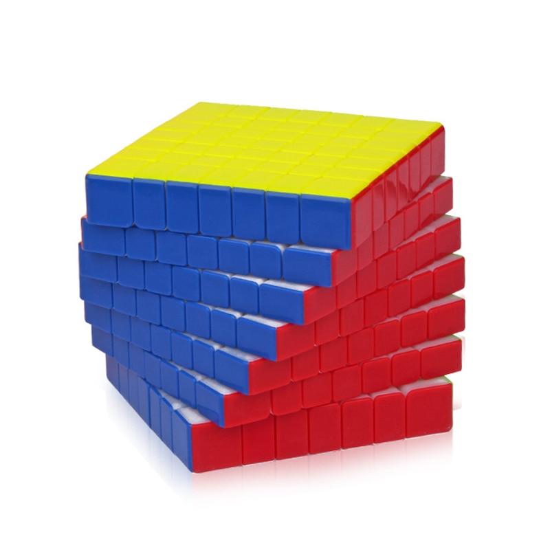 YUXIN Huanglong 7x7x7 Magique Cubes ZhiSheng Profissional 7-Couches Vitesse Puzzle Cube Jouets Éducatifs De Noël cadeaux Pour Enfants