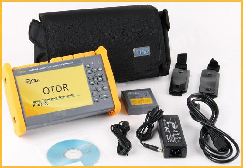 bilder für Free Remote Demo, FHO5000-D26 OTDR 1310/1550nm, 26/24 dB, eingebaute VFL, Touchscreen, Fern 130 km, FC/SC, Grandway F2H