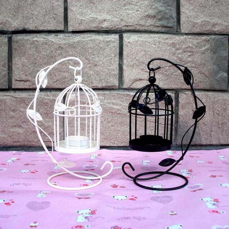 Creative Hanging Tea Light Holder Candle Holders Decorative Bird