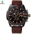 Relogio Masculino Luxury Brand Digital Wristwatches Men Outdoor Sport Watches Fashion Clock leather Waterproof Sports Watch Men