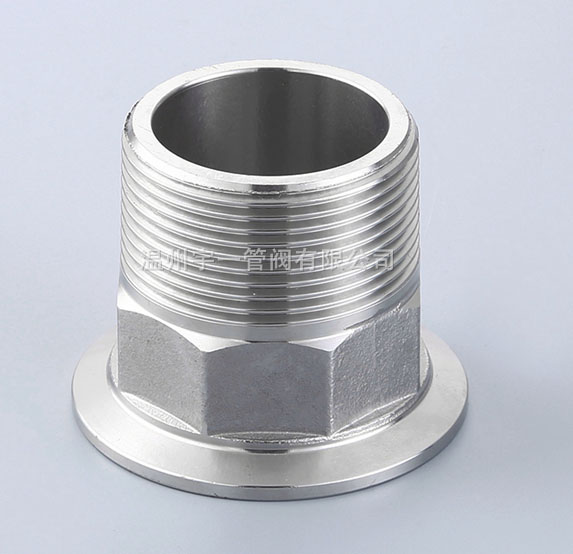 Tri-clamp X Male adapter 1.5