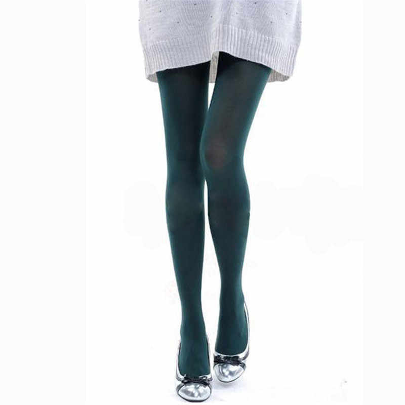 3b719cf253e ... Autumn winter Womens Fashion Women s Candy Color pantyhose pants sexy  Tights Burnish Opaque Trample stockings 11 ...