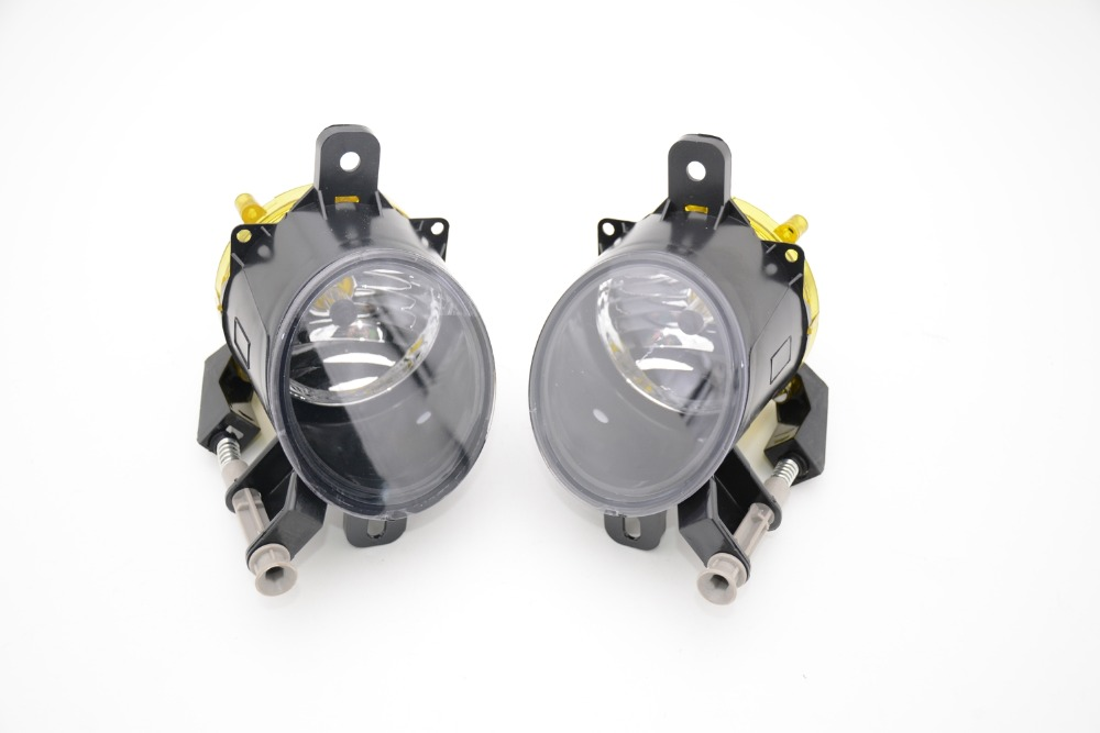2 Pcs/Pair front bumper driving fog lights lamps with bulbs RH and LH for Cadillac SRX 2010-2015 2 pcs pair rh and lh front foglights bumper fog lamps without bulbs for vw volkswagen polo 2014 2016 hatchback