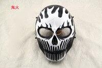 M06 Boutique PVC Airsoft CS Cráneo de la Máscara Protectora de La Cara Llena Máscara del Horror Real Película Apoyos Adultos Cosplay Del Partido de Halloween Máscaras