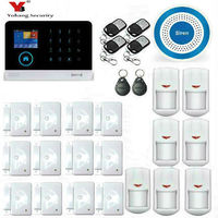 Yobang Security WIFI Home Security Alarm System DIY KIT IOS Android Smartphone App With Door Window
