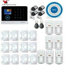 Yobang Security WIFI Home Security Alarm System DIY KIT IOS/Android Smartphone App with Door/window Sensor Burglar Alarm