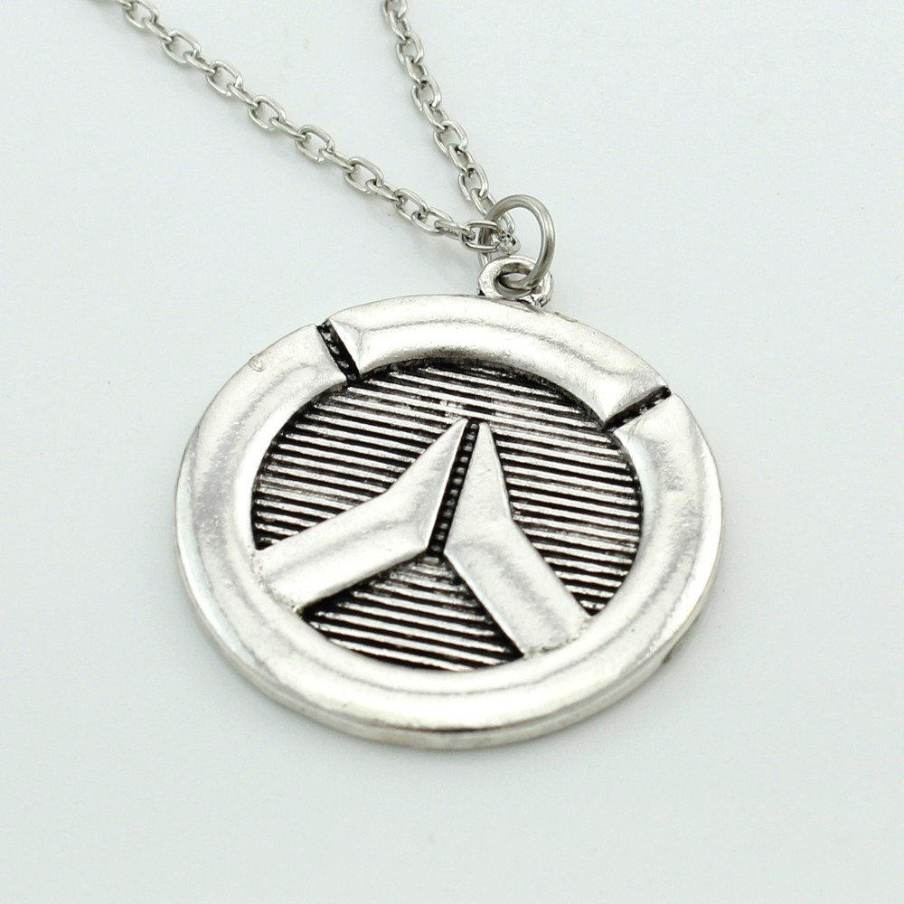 Overwatch Symbol Pendant Necklace
