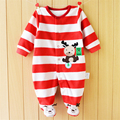 2017 Baby Romper Footed Autumn Baby Girl Clothing Sets Roupas Bebe Newborn Baby Clothes Spring Baby Boy Clothes Infant Jumpsuits