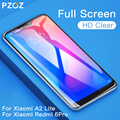 PZOZ Xiaomi teléfono móvil F1 de mi A1 A2 Lite 8 9 5X 6X de vidrio rojo mi nota 7 4X5 Plus de templado de vidrio de la cubierta completa Protector de pantalla