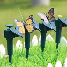 Solar Power Flying Butterfly Garden Decoration