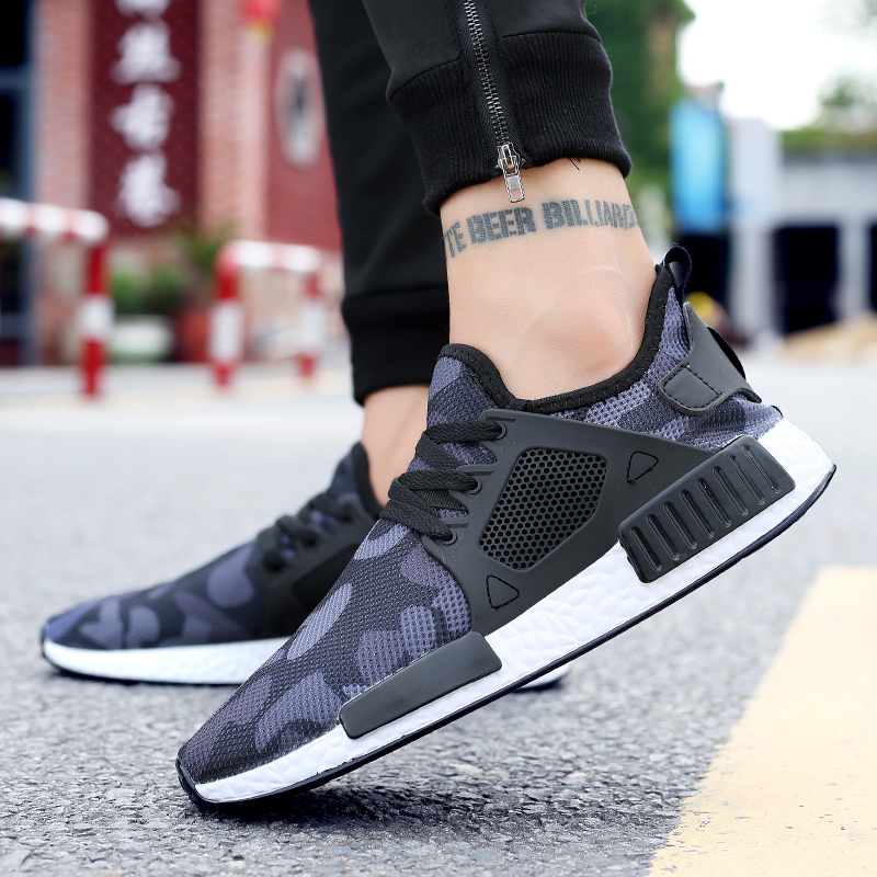 Men Sneakers Breathable Comfortable Size 35-47 Lace-Up Cheap Running Shoes For Males Women Spring Autumn Outdoor Walking Unisex