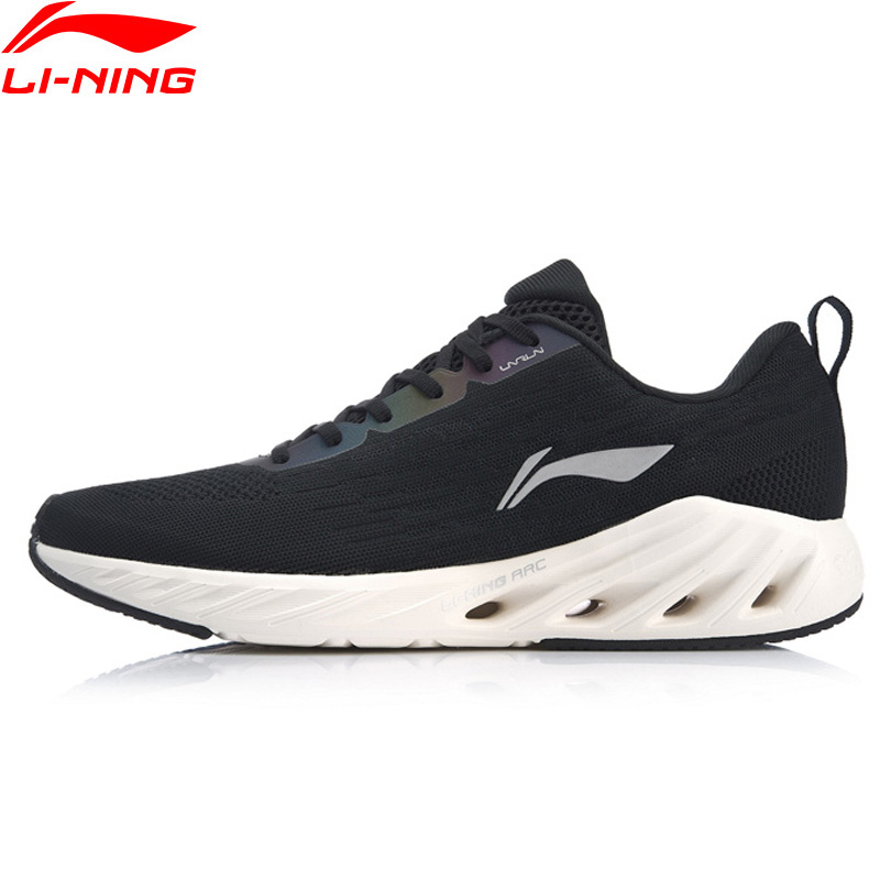 Li Ning Men LN ARC 2018 Cushion Running Shoes Mono Yarn Breathable LiNing Wearable Sport Shoes