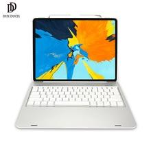 DUX DUCIS, беспроводной Чехол-клавиатура для iPad Pro 12,9, Bluetooth, умный складной чехол для планшета, для iPad Pro, 12,9 дюймов, Funda