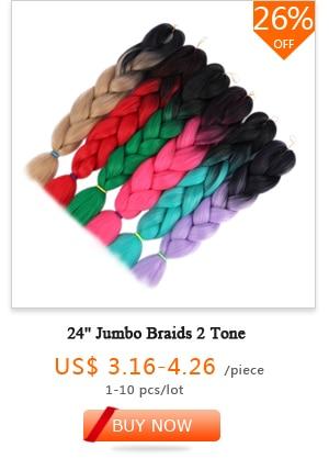 24'' Jumbo Braids 2 Tone