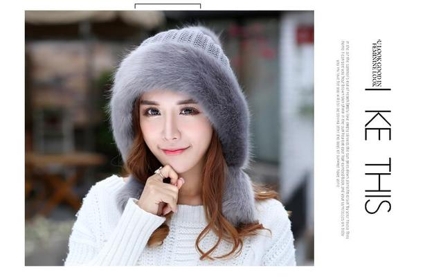 best quality Hat Cap Hat Mongolia female winter thick Princess cap ear warm wool