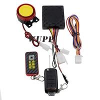 WUPP Motorrad-anti-diebstahl-alarm Drahtlose Roller Motorrad Anti-diebstahl-sicherheit Alarmanlage 4 Taste Fernbedienung Mp3 Alarm