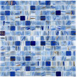 Mediterranean Sea mixed blue glass mosaic tile size Kitchen bathroom swimming pool balcony exterior wall brick tile,TCRR021 commercial sea inflatable blue water slide with pool and arch for kids