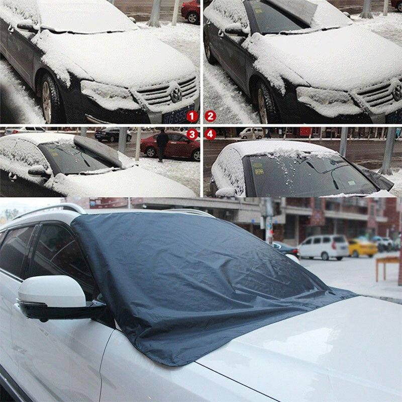 Vehemo спереди Солнцезащитная шторка для окна автомобиля Авто козырек от солнца автомобиля гвардии протектор для снег зима лобовое стекло Зонт Портативный Грузовик внедорожник