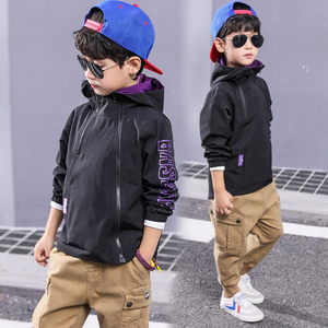 Image 3 - Boys clothes children spring solid jacket for teenage boys casual coat child tops 3 111 Y children active jacket baby clothing