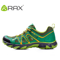 RAX Outdoor Men's Shoes Spring and Autumn Outdoor Cross country Shoes Skid proof Wear resistant Breathable Hiking Travel Shoes