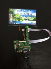 Wholesale prices 7.0″ for Raspberry Pi 800X480 Capacitive touch screen TFT LCD Display and driver board for Raspberry Pi 3 2B B