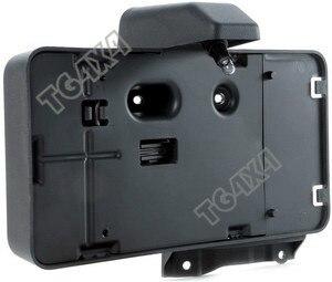 лучшая цена OEM Black Rear Licence Plate for Jeep Wrangler JK Licence Bracket Gauge American Free Shipping