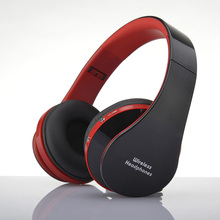 V3.0+EDR Wireless Headphones Game Headset Bluetooth Earphone for iPhone Samsung HTC LG &PC Tablet Laptop Foldable