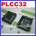 20 шт. PLCC32-SMD IC розетка, Plcc32 разъем адаптер, 32 контакт. PLCC конвертер