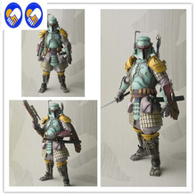 A Toy A Dream Action Figure Boba Fett Model Toy 17CM Movie Realization Robin Boba Fett Toy Star War Sic Samurai Taisho Doll