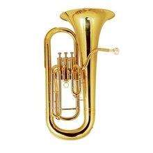 3 пистона euphonium Музыкальные инструменты профессиональный латунный bombardino чехол с мундштуком
