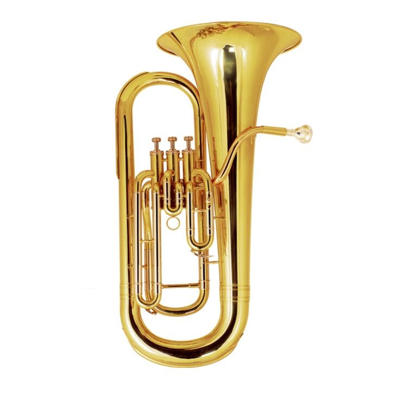 3 Pistons Euphonium musical instruments professional Brass bombardino with Case and mouthpiece in Euphonium from Sports Entertainment