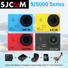 Оригинальный SJCAM SJ5000x SJ 5000X Elite 4 К 24fps 2K30fps и SJ5000 и SJ Cam SJ 5000 действия Wi-Fi Камера VS Go Pro Hero 5 Спортивные Cam