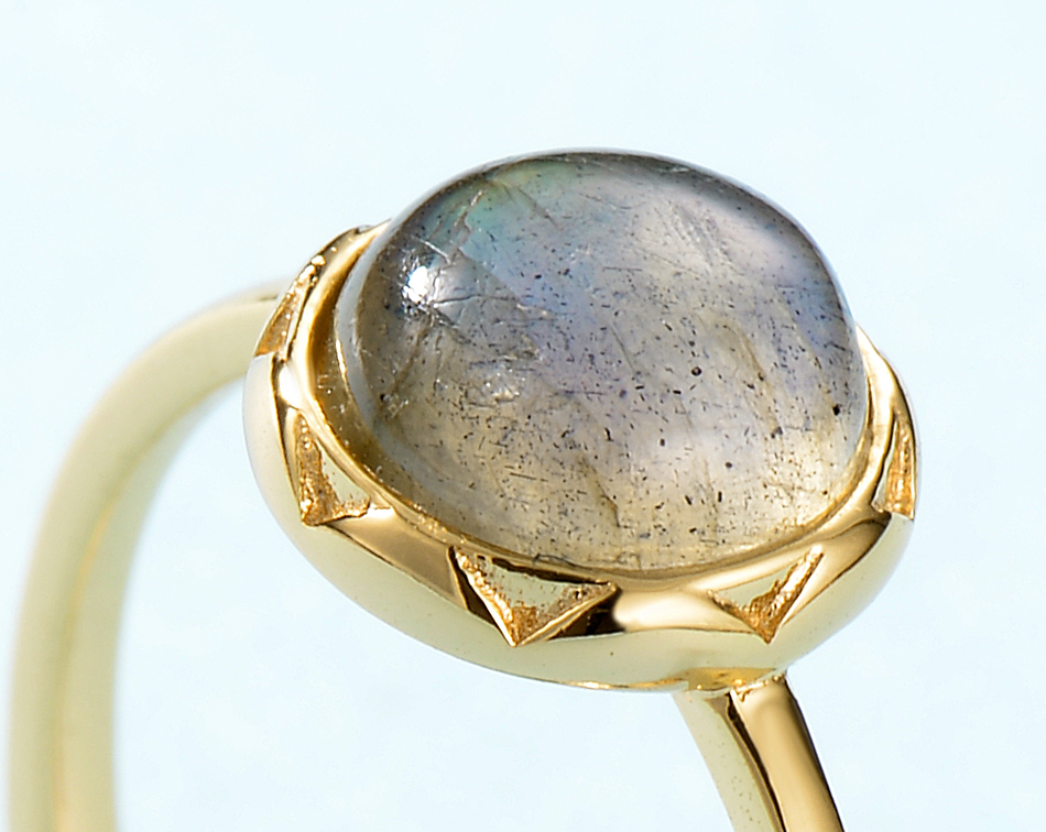 ALLNOEL 2019  Ring For Women Sterling Silver Labradorite Ring Gift On March 8  Costume Jewelry  Accessories Rings For Friends  (3)