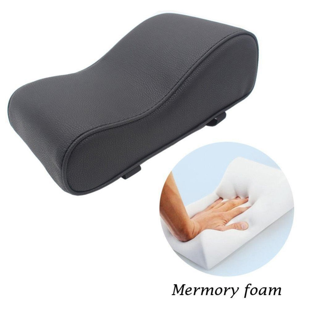 Image 4 - PU Leather Car Armrest Pad Memory Foam Universal Auto Armrests Covers with Phone Pocket for BMW/Audi/Honda-in Armrests from Automobiles & Motorcycles