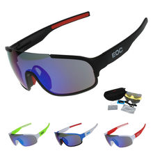 COMAXSUN Polarized Cycling Glasses Riding Bike Protection Goggles Driving  Fishing Outdoor Sports Sunglasses UV 400 3 Lens 814
