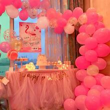FRIGG 107pcs Pink Blue Black Gold 1st Birthday Balloon Party Decorations Kids Adult Wedding Ballon Babyshower Globos