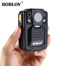 Boblov HD66-02 2304x1296P 30fps Mini Camcorder Ambarella A7 33MP 32GB Video Recorder Wearable Body Camera Police