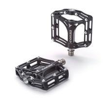 Mtb dh bmx xc titanium achse spindel & legierung pedale plattform flache cnc große größe corki-der kühne