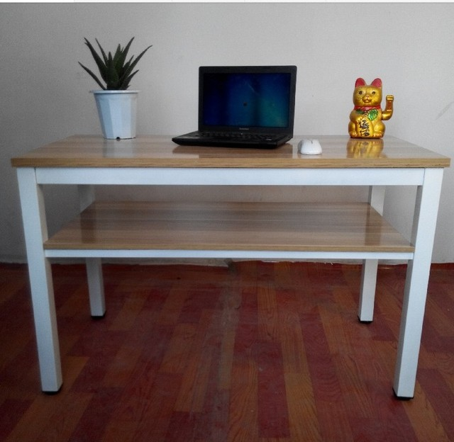 Double Desks Computer desk simple double desks conference tables painting steel computer desk simple double desks conference tables painting steel wooden table fast can be customized sisterspd