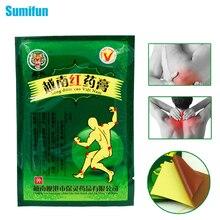 Сумифун 8 шт. Вьетнам Красный тигровый бальзам Боль пластырь китайские из трав, медицинская штукатурка мышц спины суставов штукатурка C075